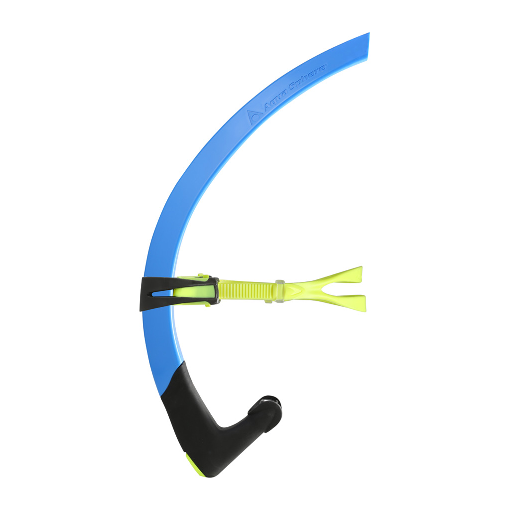 MP SMALL FIT FOCUS SNORKEL - BLUE