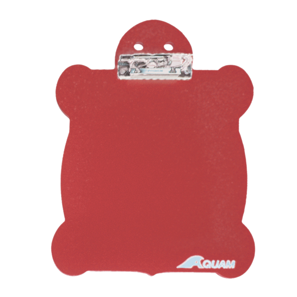TURTLE CLIPBOARD RED
