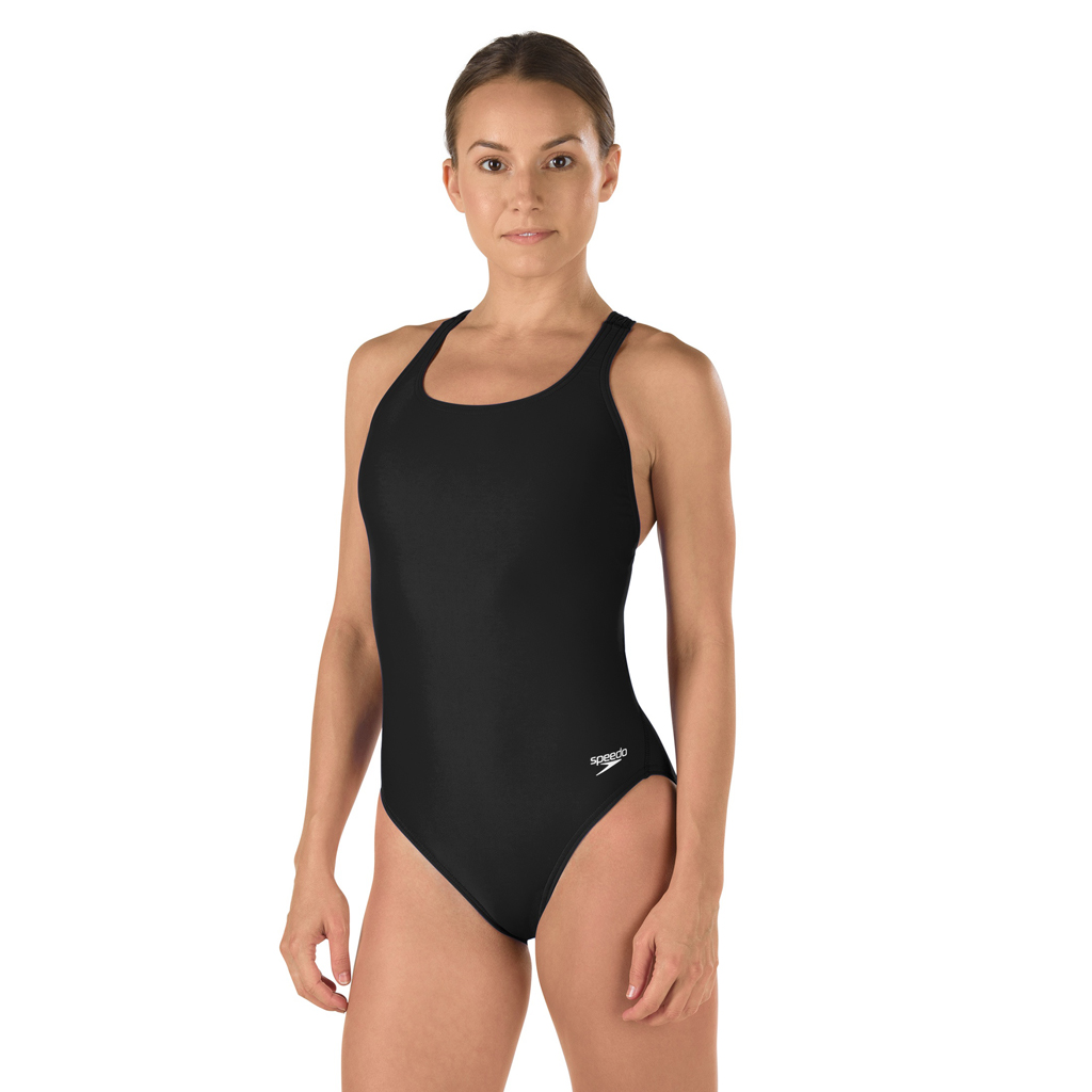 SPEEDO SUPERPROBACK LYCRA SWIMSUIT BLACK (38)