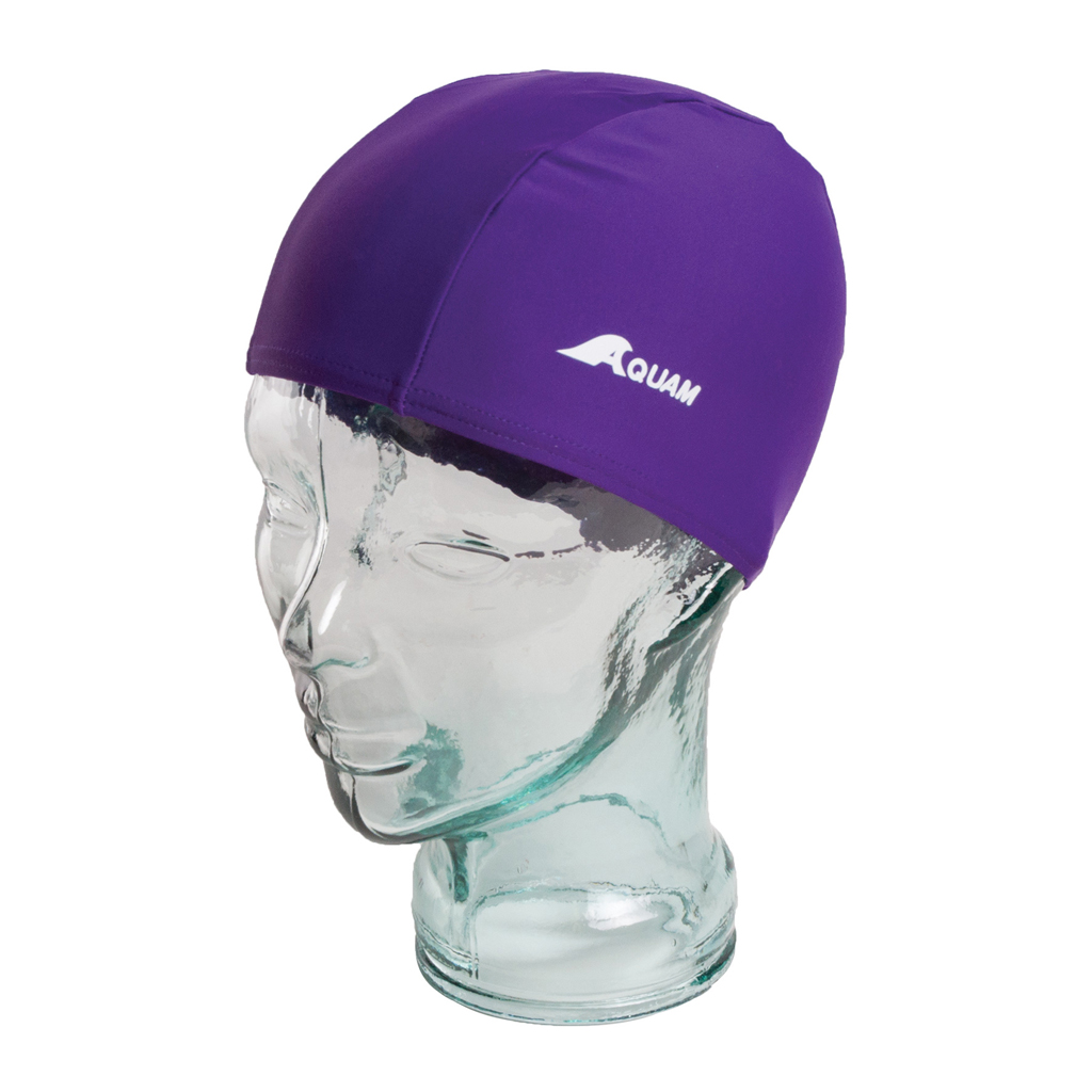 AQUAM LYCRA CAP PURPLE