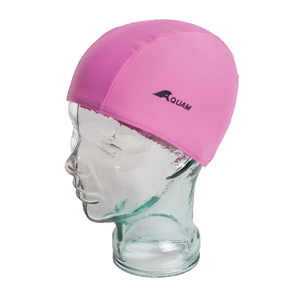 AQUAM JR LYCRA CAP PINK