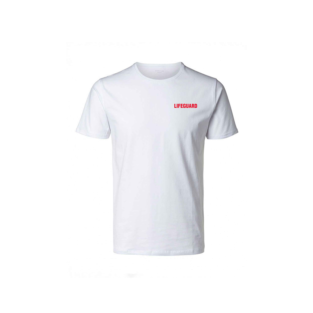 "WHITE T-SHIRT ""LIFEGUARD"" (XL)"