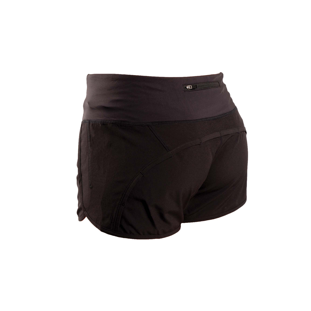 WOMEN'S BLACK SHORT (XS)