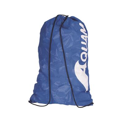 AQUAM MESH DRAWSTRING BAG - ROYAL