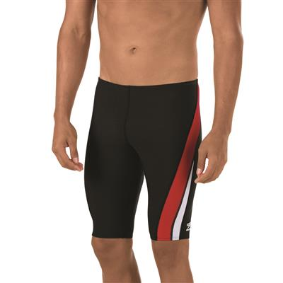 SPEEDO LAUNCH SPLICE JAMMER RED (24)