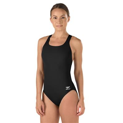 SPEEDO SUPERPROBACK SWIMSUIT BLACK (12)