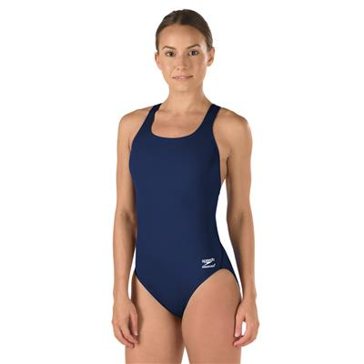 SPEEDO SUPERPROBACK SWIMSUIT NAVY (36)